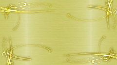 Golden Frame Stock Footage