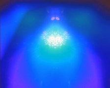 Atomic Throb Moving BG PAL - stock footage