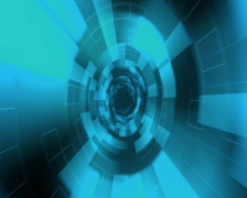 Virtual Tunnel B PAL Stock Footage