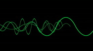 Stock Video Footage of Animation of green lines wave,seamless loop.vj,beautiful,art,decorative,mind,glo