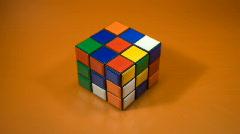 Rubiks Cube NTSC - stock footage