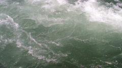 River Foam - stock footage
