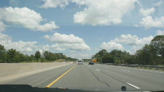 Summer highway driving. Stock Footage