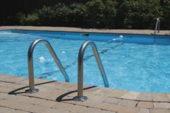 Swimming pool. SD. - stock footage