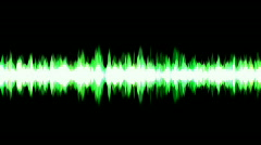 Abstract Sound wave rhythm energy recording background,science fiction light. Stock Footage