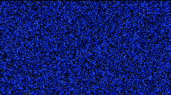 Blue static and electronic noise.particle,Design,pattern,symbol,dream,idea,creat Stock Footage