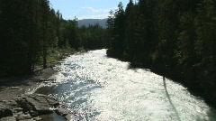 McDonald Creek, Glacier National Park, Montana Stock Footage