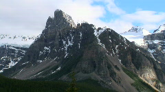 Valley of the Ten Peaks, Banff National Park, Alberta, Canada Stock Footage