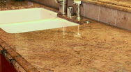 Stock Video Footage of Woman cleaning countertop