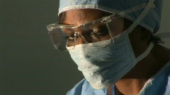 Surgeon Stock Footage