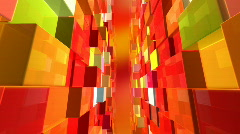 Cubic world Stock Footage