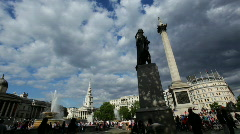 Trafalgar Square 05 HD - stock footage