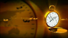 GOLDEN WATCH - stock footage