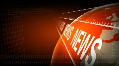 RED TONE and NEWS Stock Footage
