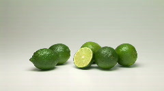 Limes - stock footage