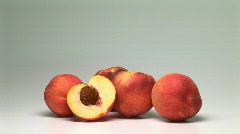 Peach - stock footage