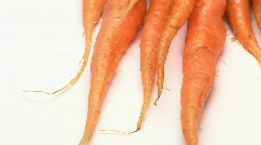 Carrots - stock footage