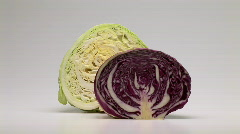Cabbage - stock footage
