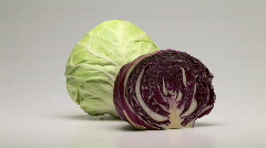 Cabbage Stock Footage