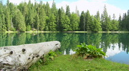 Stock Video Footage of Mountain Lake Environment