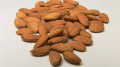 Almonds - stock footage