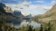 Stock Video Footage of Glacier National Park Wild Goose Island P HD 7762