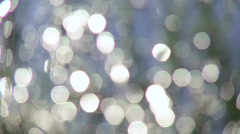 Reflection of the sun rays in the water Stock Footage