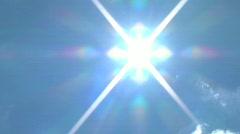 Sun:Clouds Stock Footage