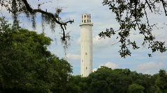 Sulphur Springs Water Tower 2 Stock Footage