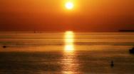 Sunset Ocean  Stock Footage
