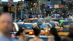 Crowd, New York City Stock Footage