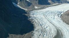 Salmon Glacier pan P HD 0220 Stock Footage