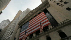 Stock Exchange, New York City - stock footage