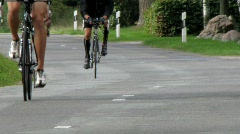 Bike race Stock Footage