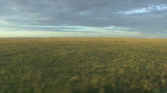 P01200 Tracking Shot of the Great Plains - stock footage