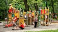 Stock Video Footage of Children's playground