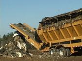 Landfill Screener Stock Footage
