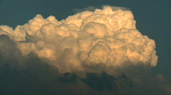 Thunder Cloud Stock Footage