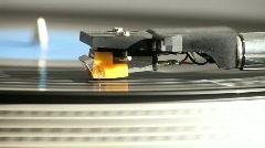 Retro Vinyl Player Stock Footage