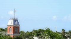 Clock Tower Key West Florida  Stock Footage