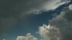 Time Lapse Cumulus Nimbus  Stock Footage