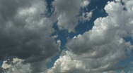 Time Lapse Storm Clouds Stock Footage