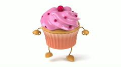 Cupcake Stock Footage