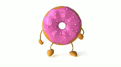 Donut Stock Footage