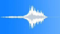 Bizarre vocal whoosh Sound Effect