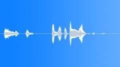 Silly cartoon critter Sound Effect
