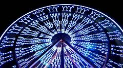Fun wheel Stock Footage