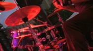 Rock and Roll Drummer (8 of 11) Stock Footage