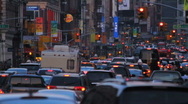Traffic Jam in New York City, HD Stock Footage