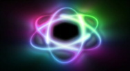 Stock Video Footage of Atom color shine, seamless loop